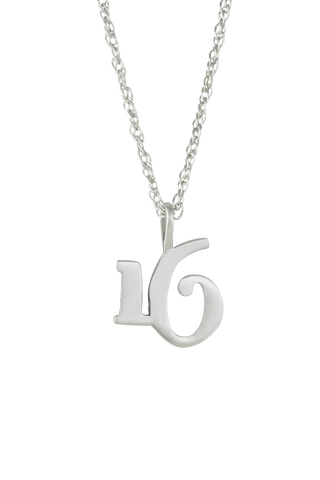 The Significant Number 16 Necklace
