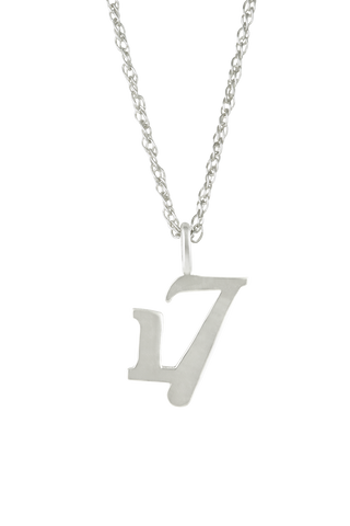 The Significant Number 17 Necklace