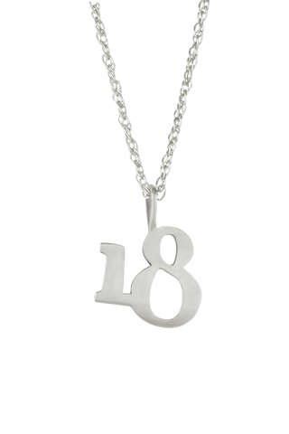 The Significant Number 18 Necklace