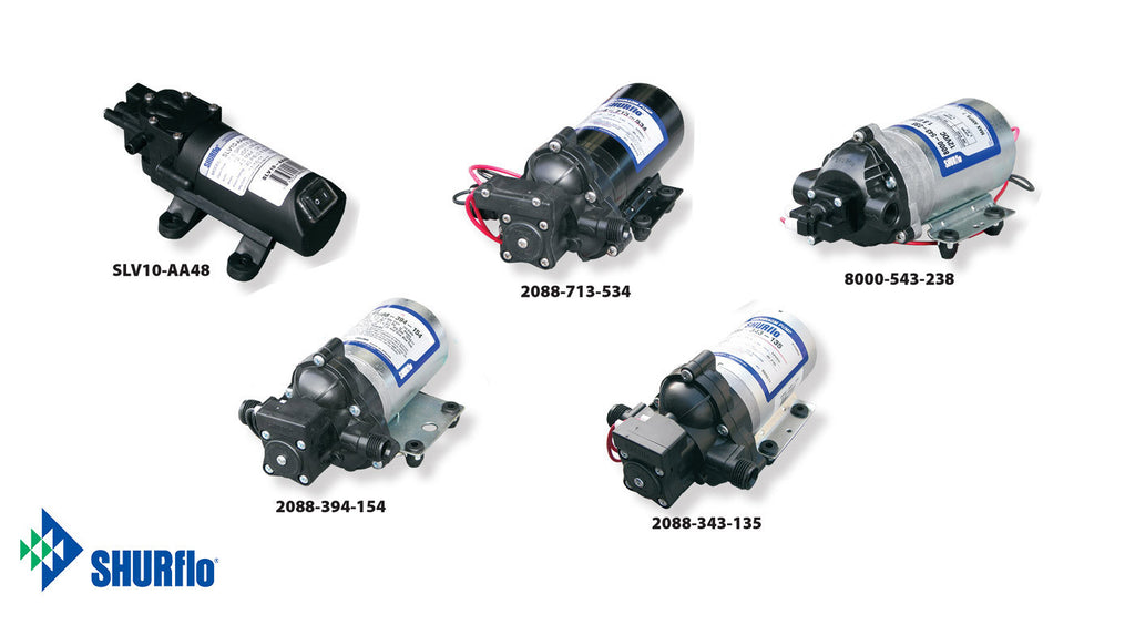 Shurflo Diaphragm Pumps - Core Water Systems