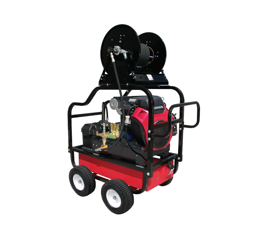 HDC5540HG - 5.5 GPM @4000PSI - Polychain Drive, Gas, GP Pump, Cold Water - Core Water Systems