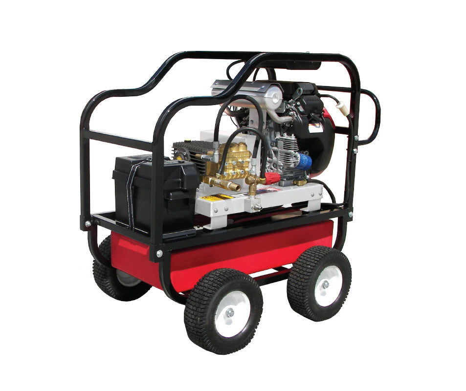 HDC5550HG - 5.5 GPM @ 5000PSI - Polychain Drive, Gas, GP Pump, Cold Water - Core Water Systems