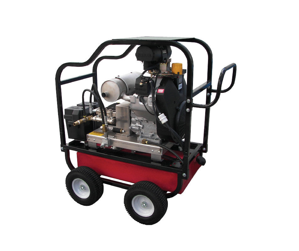 HDC6070KA - 6.0 GPM @ 7000PSI - Polychain Drive, Gas, GP Pump, Cold Water - Core Water Systems