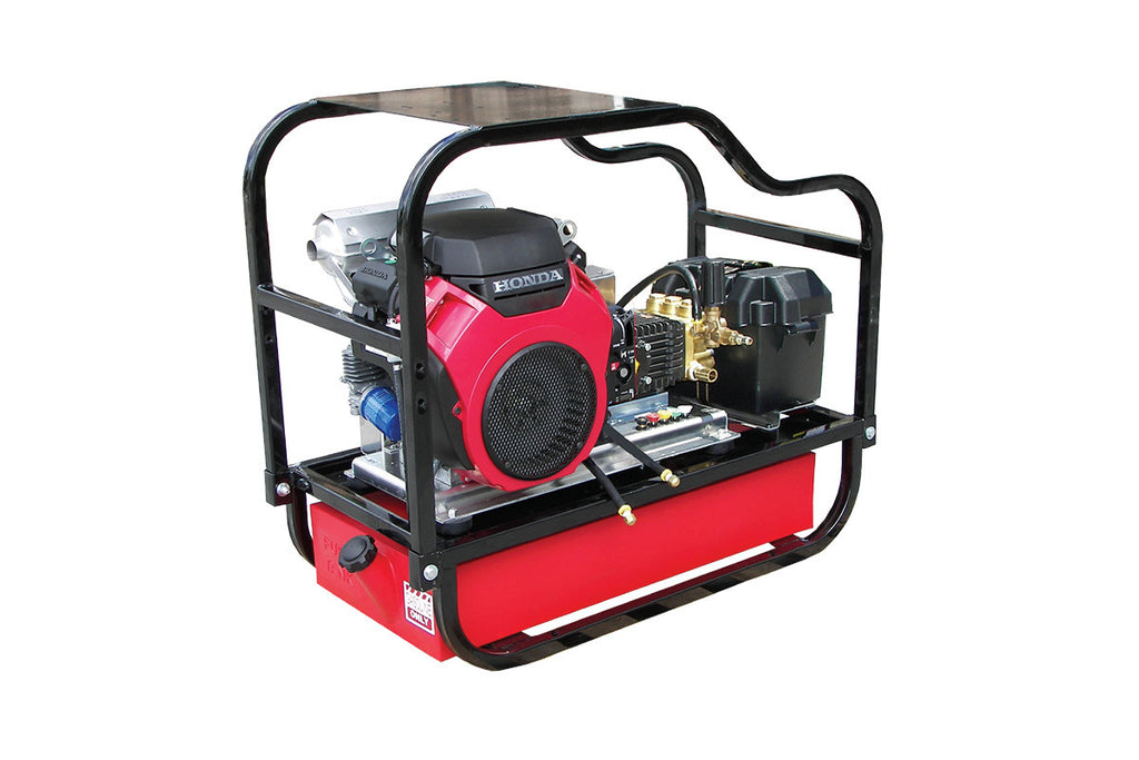 HDCV8030HG - 8 GPM @ 3000 PSI - V-Belt Drive, Gas, GP Pump, Cold Water - Core Water Systems