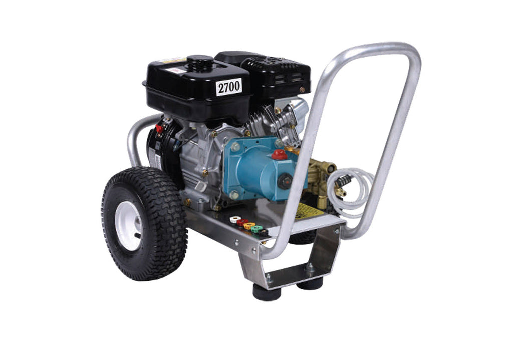 E3027RC - 3.0 GPM @ 2700 PSI - Gas, Cold Water, CAT Pump, Direct Drive - Core Water Systems