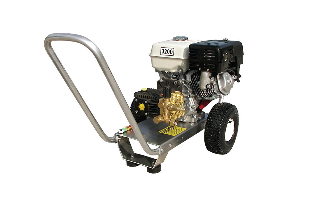 E3032HG - 3.0 GPM @ 3200 PSI - Gas, Cold Water, GP Pump, Direct Drive - Core Water Systems