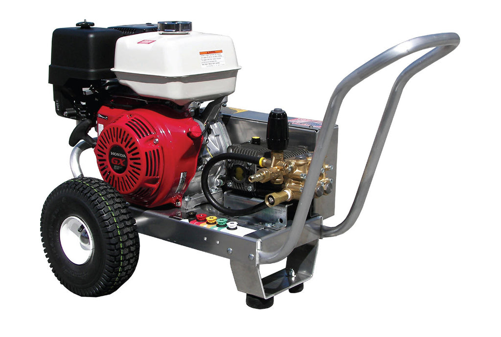 EB4035HA - 4.0 GPM @ 3500 PSI - Gas, Cold Water, AR Pump, V-Belt Drive - Core Water Systems