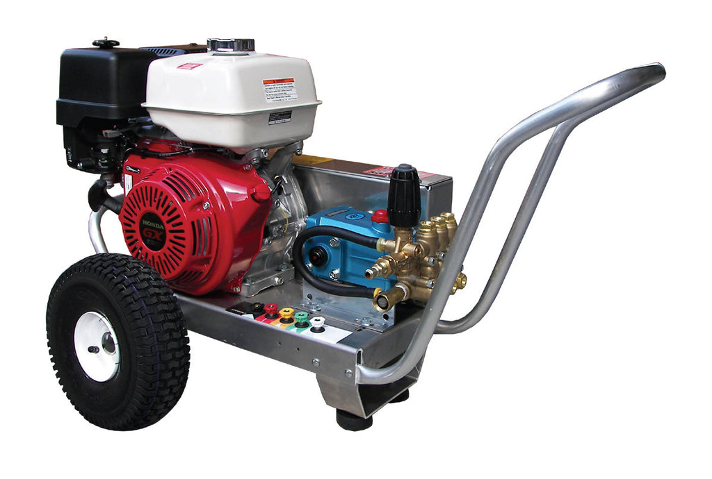 EB4035HC - 4.0 GPM @ 3500 PSI - Gas, Cold Water, CAT Pump, V-Belt Drive - Core Water Systems