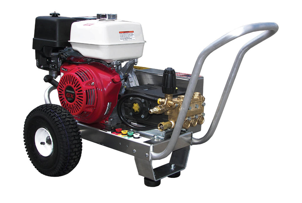 EB4035HG - 4.0 GPM @ 3500 PSI - Gas, Cold Water, GP Pump, V-Belt Drive - Core Water Systems