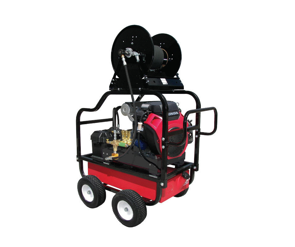 HDC8035HG - 8.0 GPM @ 3500 PSI - Polychain Drive, Gas, GP Pump, Cold Water - Core Water Systems