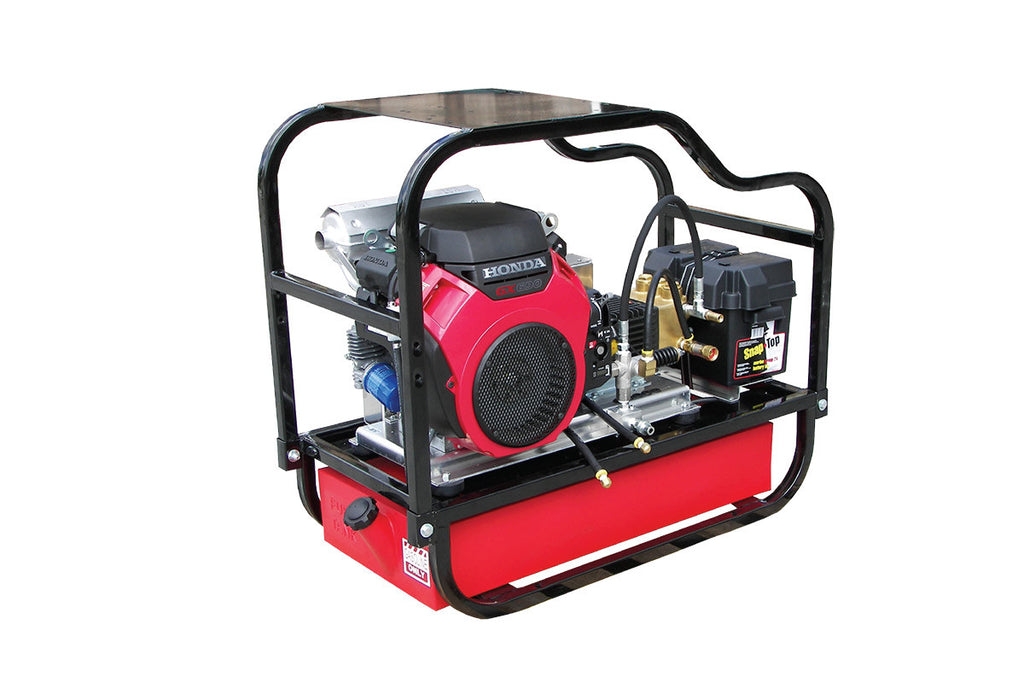 HDCV4560HG - 4.5 GPM @ 6000 PSI - V-Belt Drive, Gas, GP Pump, Cold Water - Core Water Systems