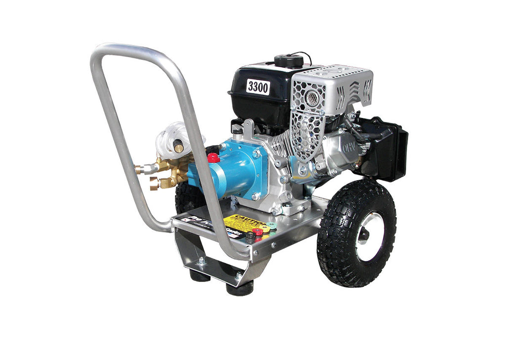PPS2533KCI - 2.5 GPM @ 3300 PSI - Gas, Cold Water, CAT Pump, Direct Drive - Core Water Systems