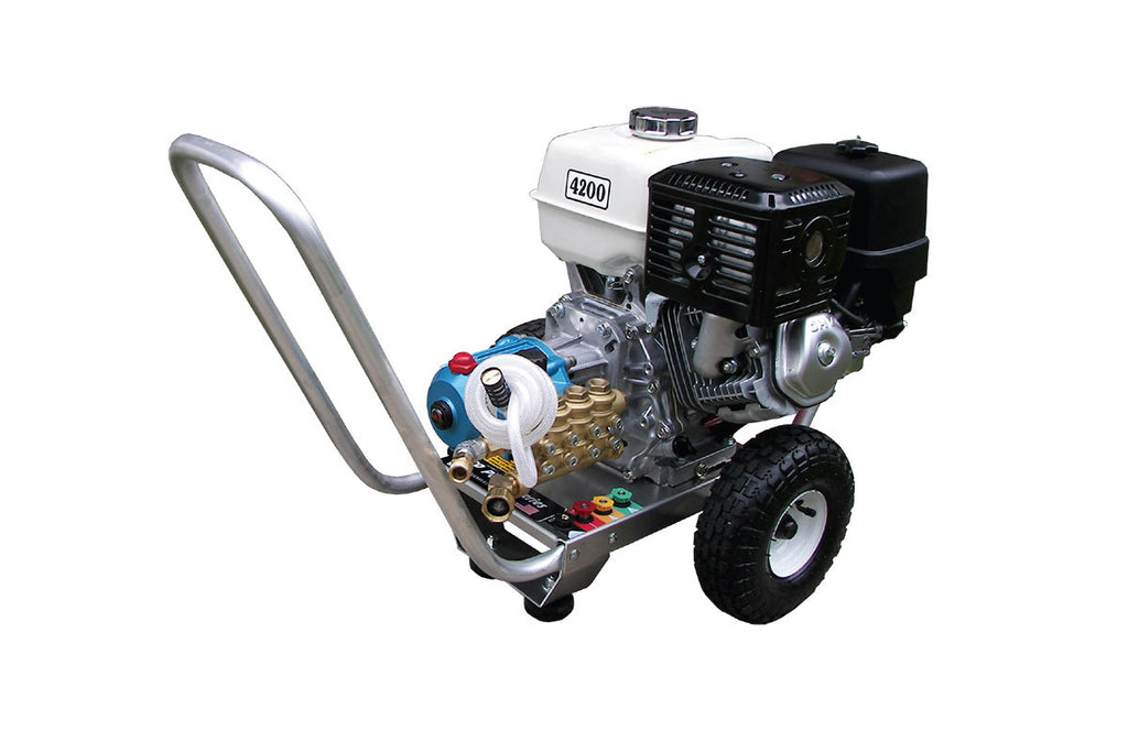 PPS4042HCI - 4.0 GPM @ 4200 PSI - Gas, Cold Water, CAT Pump, Direct Drive - Core Water Systems