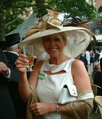 York Races lady in Hat