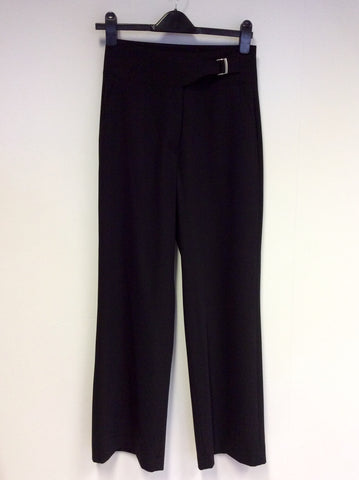 BRAND NEW BETTY BARCLAY ELEMENTS BLACK FEMININE FIT FARAH TROUSERS SIZE 10