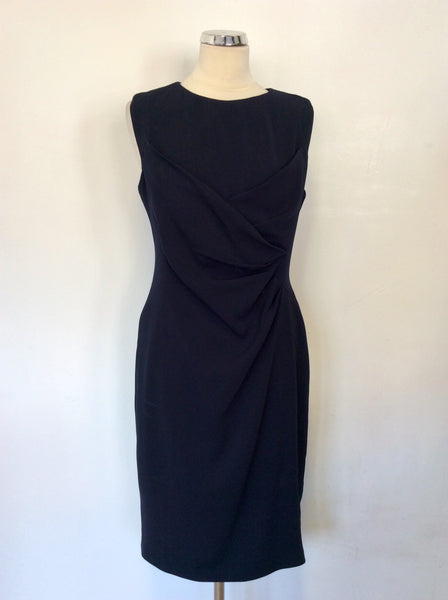 BRAND NEW COAST ARENA NAVY BLUE PENCIL DRESS SIZE 14