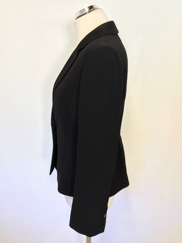 HOBBS NAVY BLUE SUIT JACKET SIZE 12
