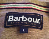 Barbour Stone Pima Cotton V Neck Cardigan Size L - Whispers Dress Agency - Sold - 2