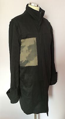 ST-MARTINS BLACK ZIP UP COAT SIZE M - Whispers Dress Agency - Womens Coats & Jackets - 1