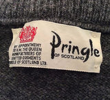 Pringle Grey Wool Crew Neck Jumper Size XL - Whispers Dress Agency - Sold - 2