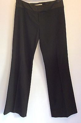 Karen Millen Black Formal Trousers Size 12 - Whispers Dress Agency - Sold - 1