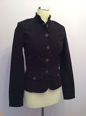 Ralph Lauren Polo Black Cotton Jacket Size S - Whispers Dress Agency - Sold - 1