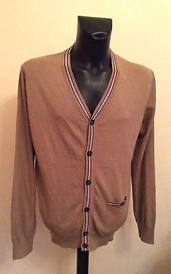 Barbour Stone Pima Cotton V Neck Cardigan Size L - Whispers Dress Agency - Sold - 1