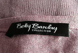 Betty Barclay Collection Pink Silk & Cashmere V Neck Jumper Size 10 - Whispers Dress Agency - Sold - 2