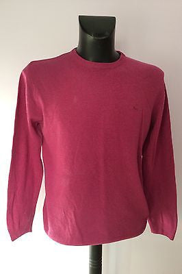 Wolsey Deep Pink Crew Neck Lambswool Jumper Size L - Whispers Dress Agency - Sold