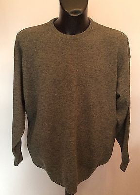 Pringle Grey Wool Crew Neck Jumper Size XL - Whispers Dress Agency - Sold - 1