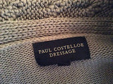 Paul Costelloe Dressage Grey Cable Trim V Neck Jumper Size 3 Approx 12/14 - Whispers Dress Agency - Sold - 3