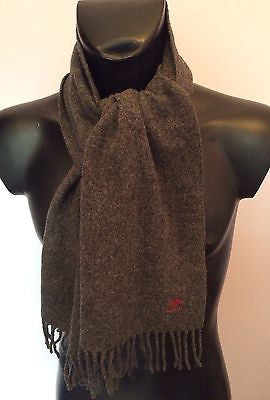 Replay Grey Wool Fringed Scarf - Whispers Dress Agency - Sold - 1