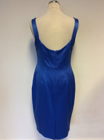 BRAND NEW KAREN MILLEN BLUE SPECIAL OCCASION PENCIL DRESS SIZE 16