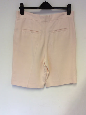 BRAND NEW COS PALE PINK FORMAL SHORTS SIZE 38 UK 10