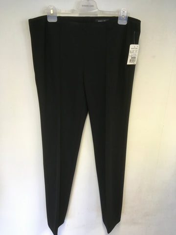 BRAND NEW BARBARA LEBEK BLACK STRETCH TROUSERS SIZE 20