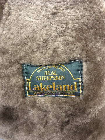 LAKELAND BEIGE SHEEPSKIN JACKET SIZE 44