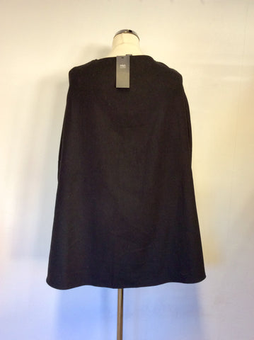 BRAND NEW MARKS & SPENCER BLACK CAPE ONE SIZE