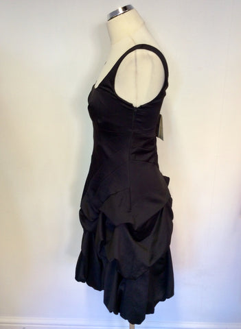 BRAND NEW MONSOON BLACK PARACHUTE SKIRT DRESS SIZE 8