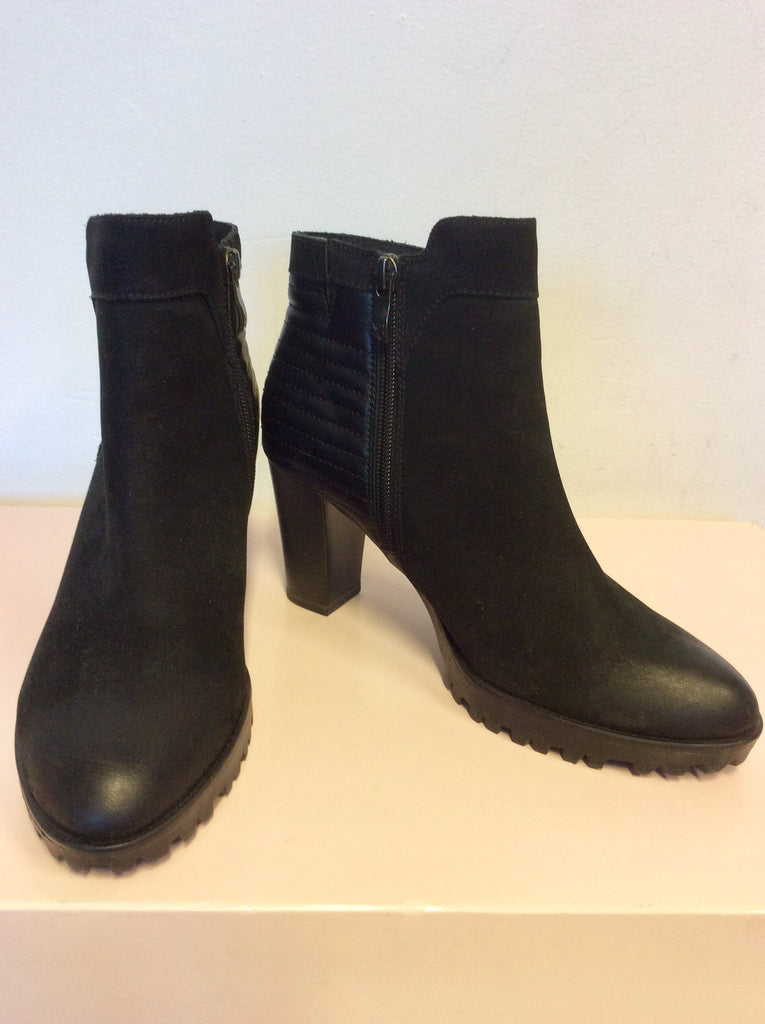 824a303ad65 CAPRICE BLACK SUEDE & LEATHER ANKLE BOOTS SIZE 4.5/37.5 – Whispers ...