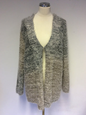 BRAND NEW BARBARA LEBEK CLOUDY SKY KNIT CARDIGAN SIZE 20