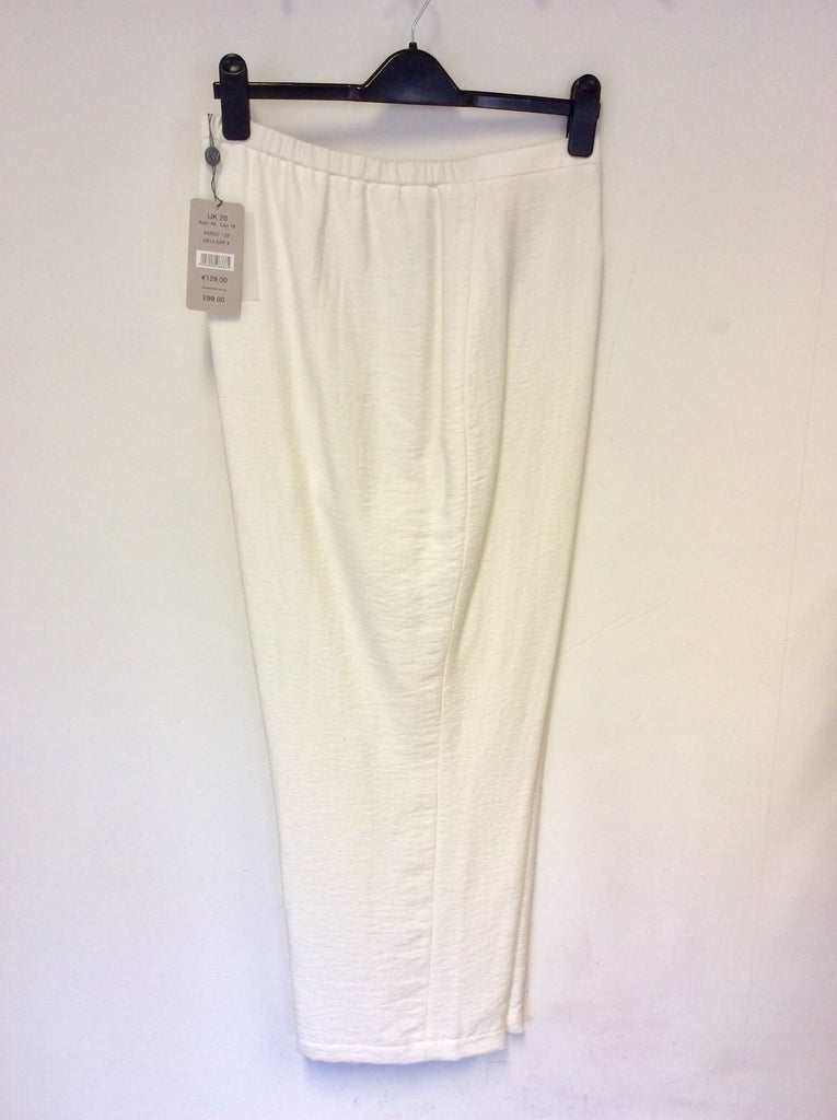 9165afb357e BRAND NEW WINDSMOOR WHITE FORMAL TROUSERS SIZE 20 – Whispers Dress ...