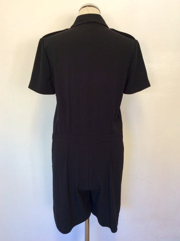 SMART MULBERRY BLACK SHORTS PLAYSUIT SIZE 10