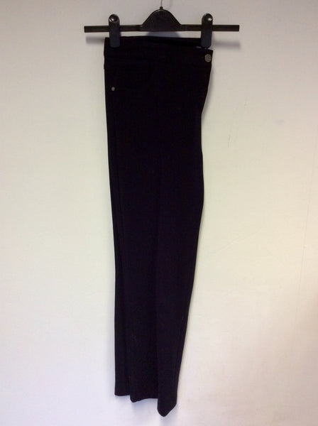 BASLER DARK BLUE STRETCH TROUSERS SIZE 20