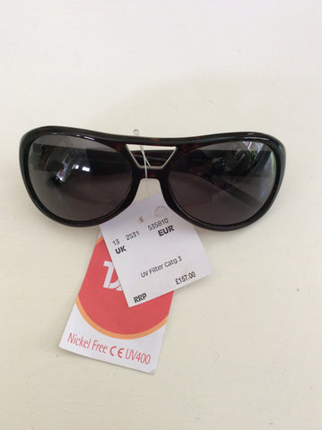 BRAND NEW MICHAEL KORS DARK BROWN TORTOISE SHELL SUNGLASSES