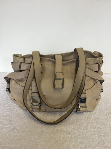 LK BENNETT ANNINA BEIGE BUTTER SOFT LEATHER SHOULDER BAG