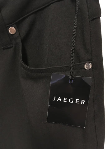 BRAND NEW JAEGER BLACK STRETCH TROUSER/ JEANS SIZE 12