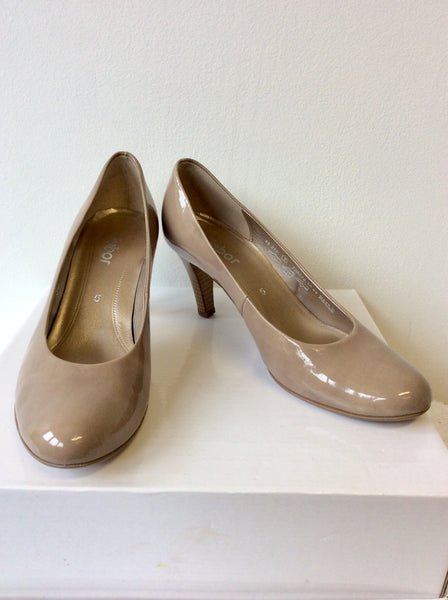 3192eb867a25 GABOR PATENT HEELED COURT SHOES SIZE 5/38 – Whispers Dress Agency