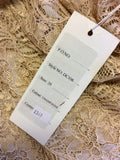 BRAND NEW DRESS CODE BY VEROMIA CHAMPAGNE LACE DRESS & JACKET SIZE 20