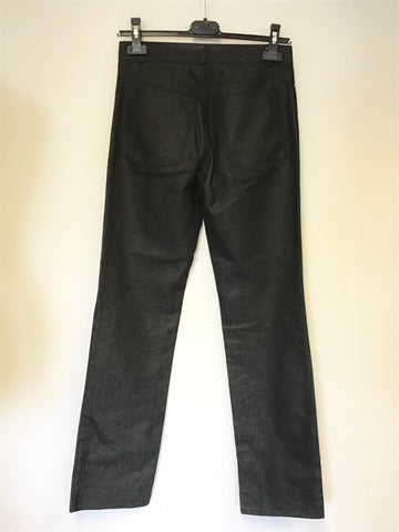 BRAND NEW CHARCOAL STRAIGHT LEG JEANS SIZE S UK 10