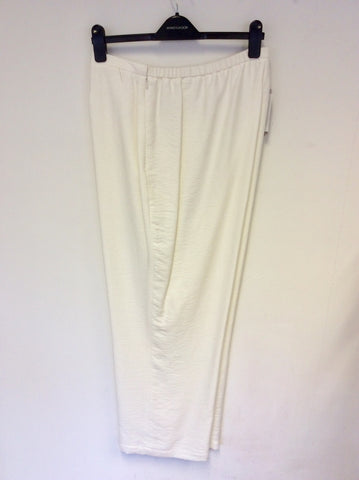 BRAND NEW WINDSMOOR WHITE FORMAL TROUSERS SIZE 20
